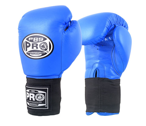 Pro Boxing® Amateur Competition Elastic Gloves - Blue
