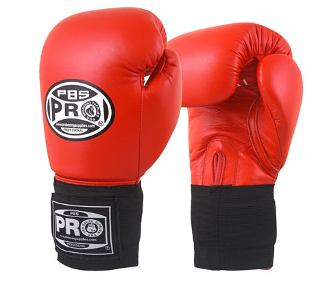 Pro Boxing® Amateur Competition Elastic Gloves - Red