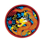 Ancient Chinese Dragon Circle Patch
