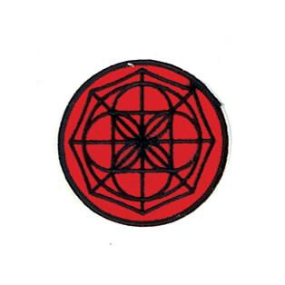 Red & Black Web Patch