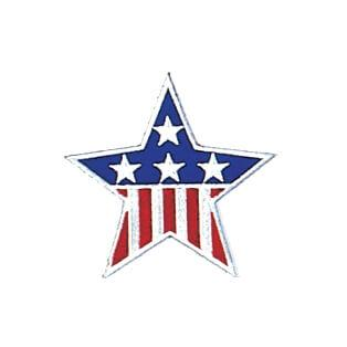 American Star Patch  1""