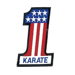 Number 1 Karate Patch