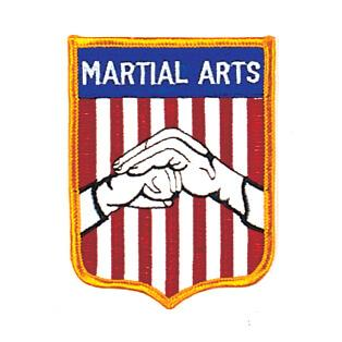 Martial Arts Hand Over Fist Patch