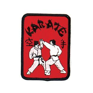 Red Karate Patch