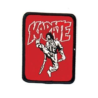 Red Karate with Sword Patch