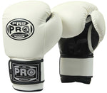 Pro Boxing® Youth Gloves - White/Black
