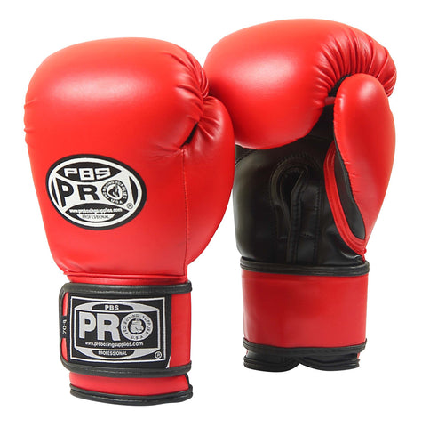 Pro Boxing® Youth Gloves - Red/Black