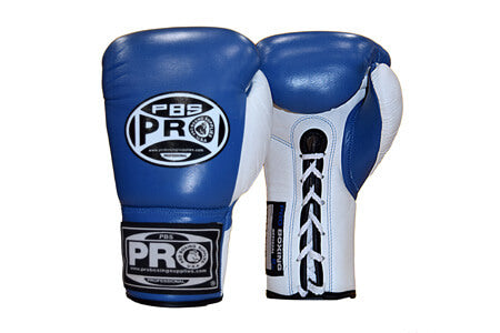 Pro Boxing® Official Pro Fight Gloves - Blue