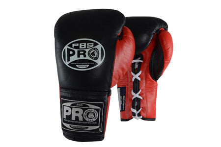 Pro Boxing® Official Pro Fight Gloves - Red/Black