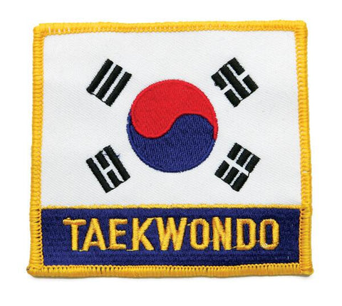 Korean Flag/Taekwondo Patch