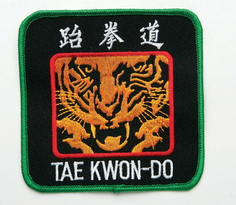 Tae Kwon-Do Tiger Patch