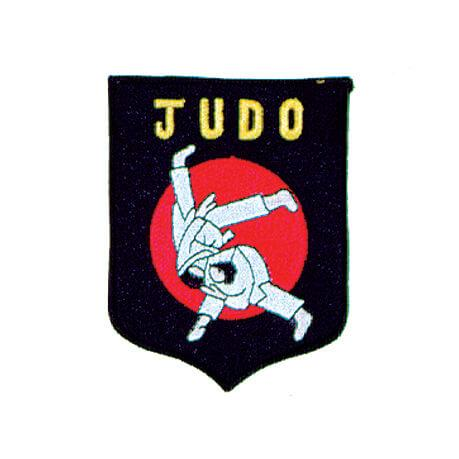 Black and Red Judo Patch