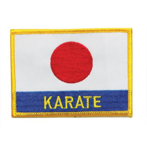 Japan Flag Karate Patch