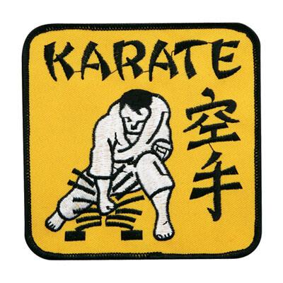 Yellow Karate Patch