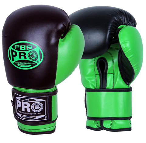 Pro Boxing® Youth Gloves - Green/Black