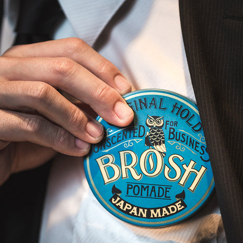 UNSCENTED POMADE/BROSH(POMADE)