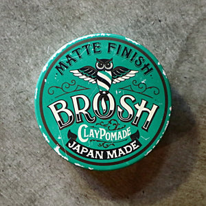 CLAY POMADE/BROSH(POMADE)