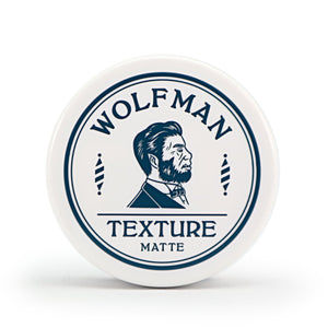 WOLFMAN TEXTURE MATTE/WOLFMAN BARBERSHOP(POMADE)