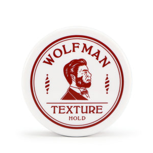 WOLFMAN TEXTURE HOLD/WOLFMAN BARBERSHOP(POMADE)