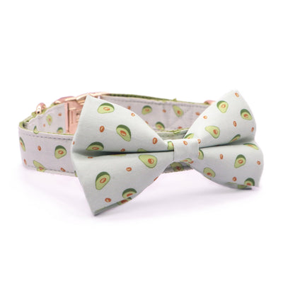 Avocado Bow Tie Collar - Sniff & Bark