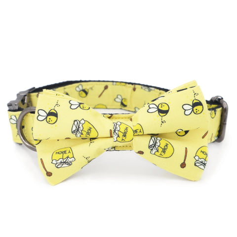 Honeybee Bow Tie Collars - Sniff & Bark