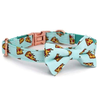 Pizza Bow Tie Collar - Sniff & Bark