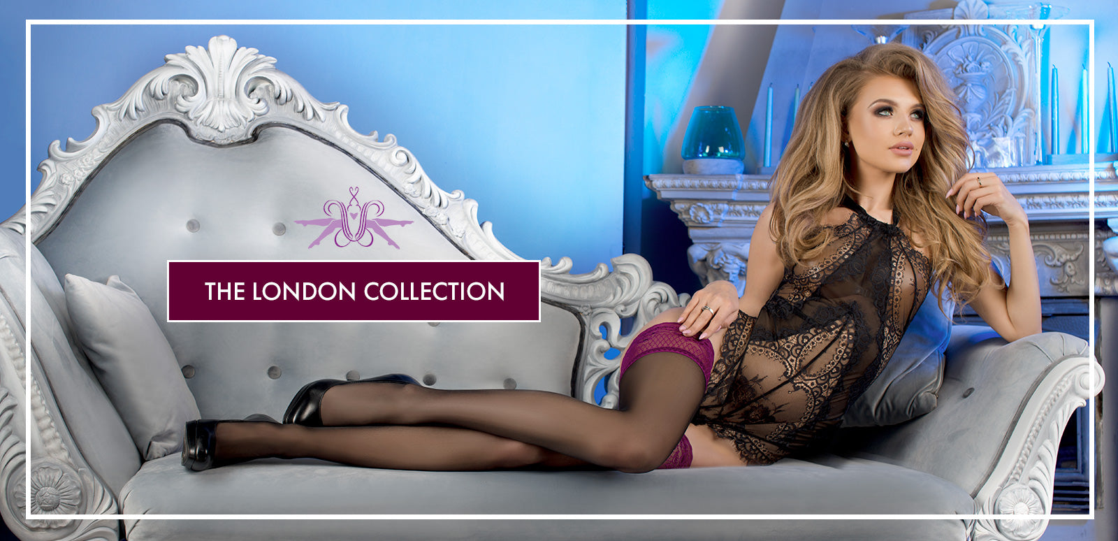Mayfair Stockings Ballerina Hold Ups London Collection