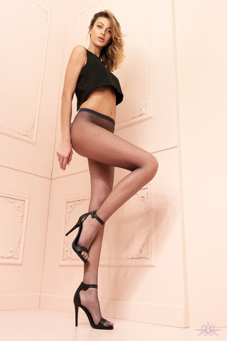 Trasparenze Ambra Fishnet Hold Ups