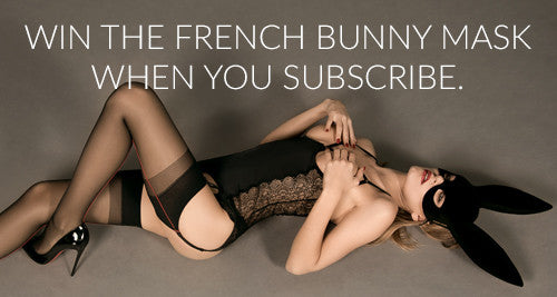 Win a Maison Close Bunny Mask and Tail - a new winner each week
