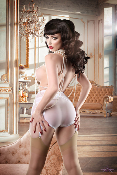 Mayfair Stockings Sofia Natural Stockings