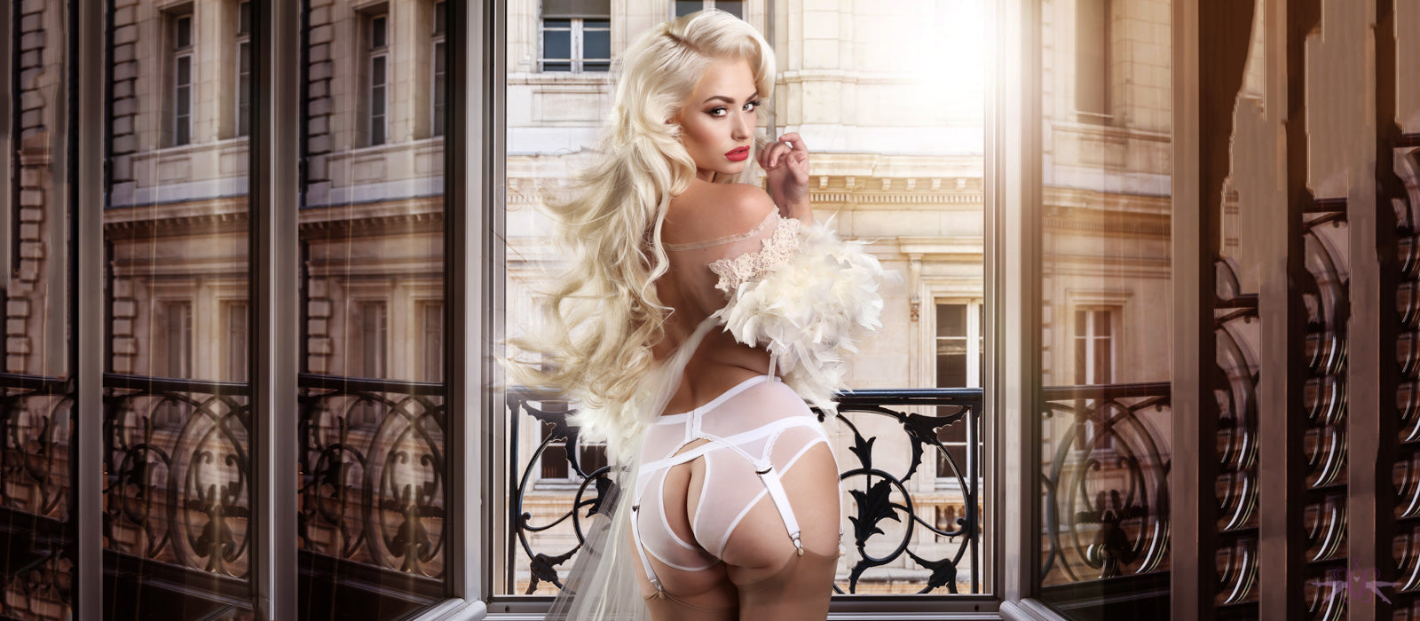 Open and crotchless lingerie and tights from Mayfair Stockings