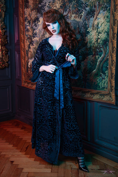 Playful Promises Velvet Robe