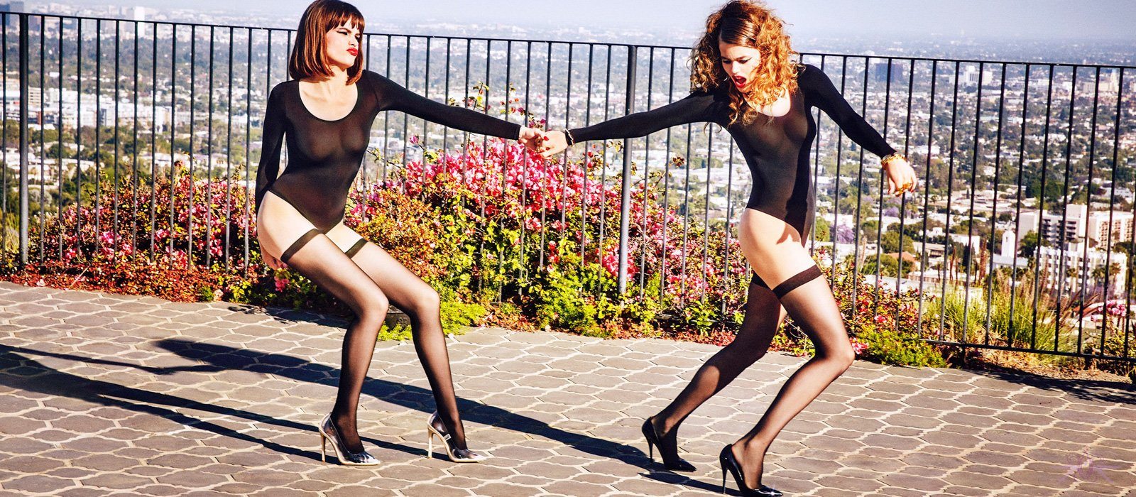 Wolford hold ups at Mayfair Stockings