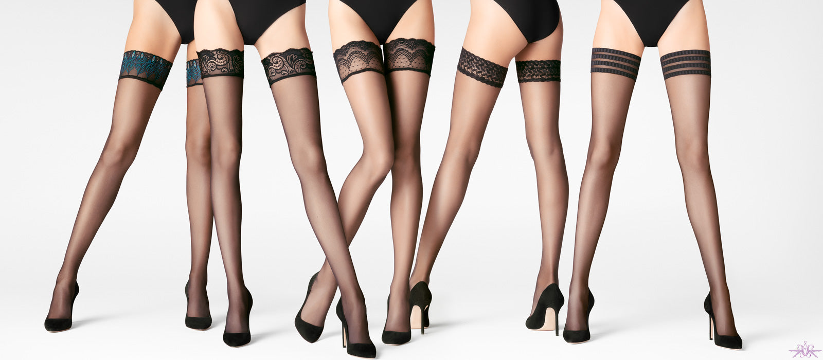 Falke Hold Ups, stockings and tights from Mayfair Stockings
