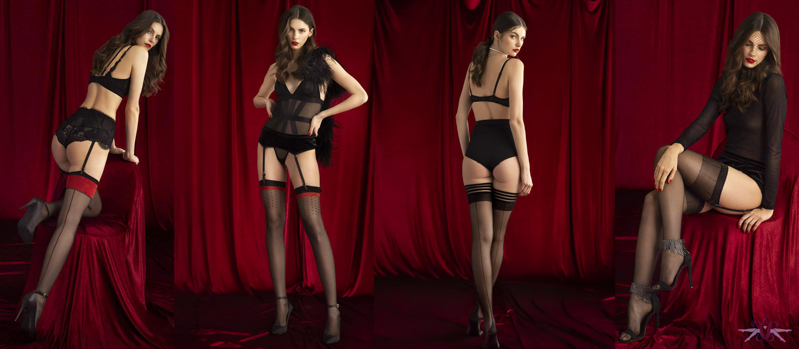 The Fiore Sensual stockings hold ups and tights from Mayfair Stockings