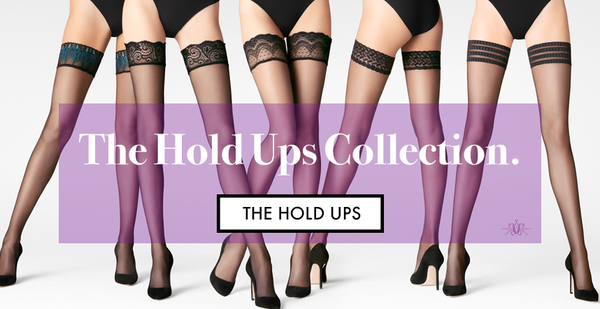 The Hold Ups Collection at Mayfair Stockings