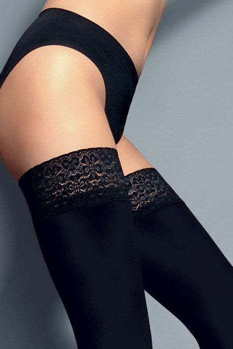 Veneziana Fiona 60 Opaque Hold Ups - Mayfair Stockings - Veneziana - Hold Ups - 2