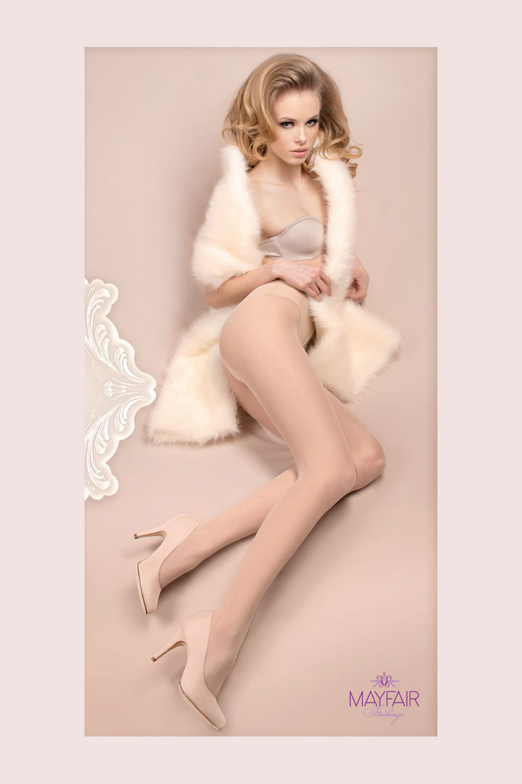 Ballerina Bridal Tights - Mayfair Stockings - Ballerina - Tights - 1