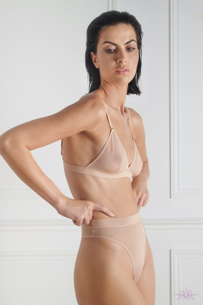 Maison Close Corps a Corps Nude High Thong