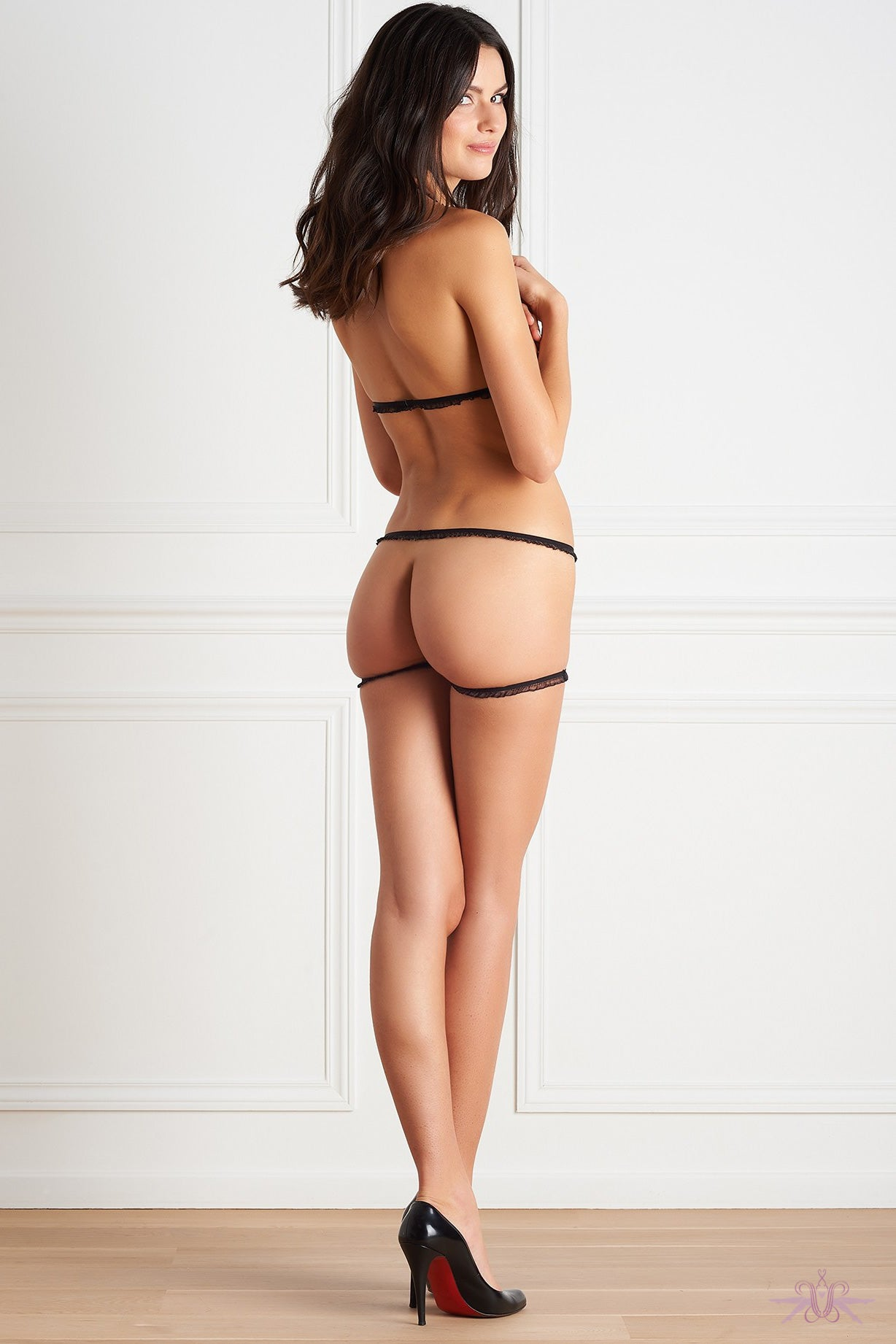 maison close le petit secret dentelle la parure nue mayfair stockings. Black Bedroom Furniture Sets. Home Design Ideas