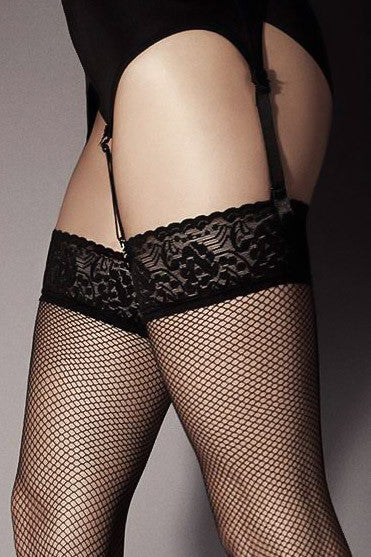 Veneziana Rete Fishnet Stockings - Mayfair Stockings - Veneziana - Stockings - 2
