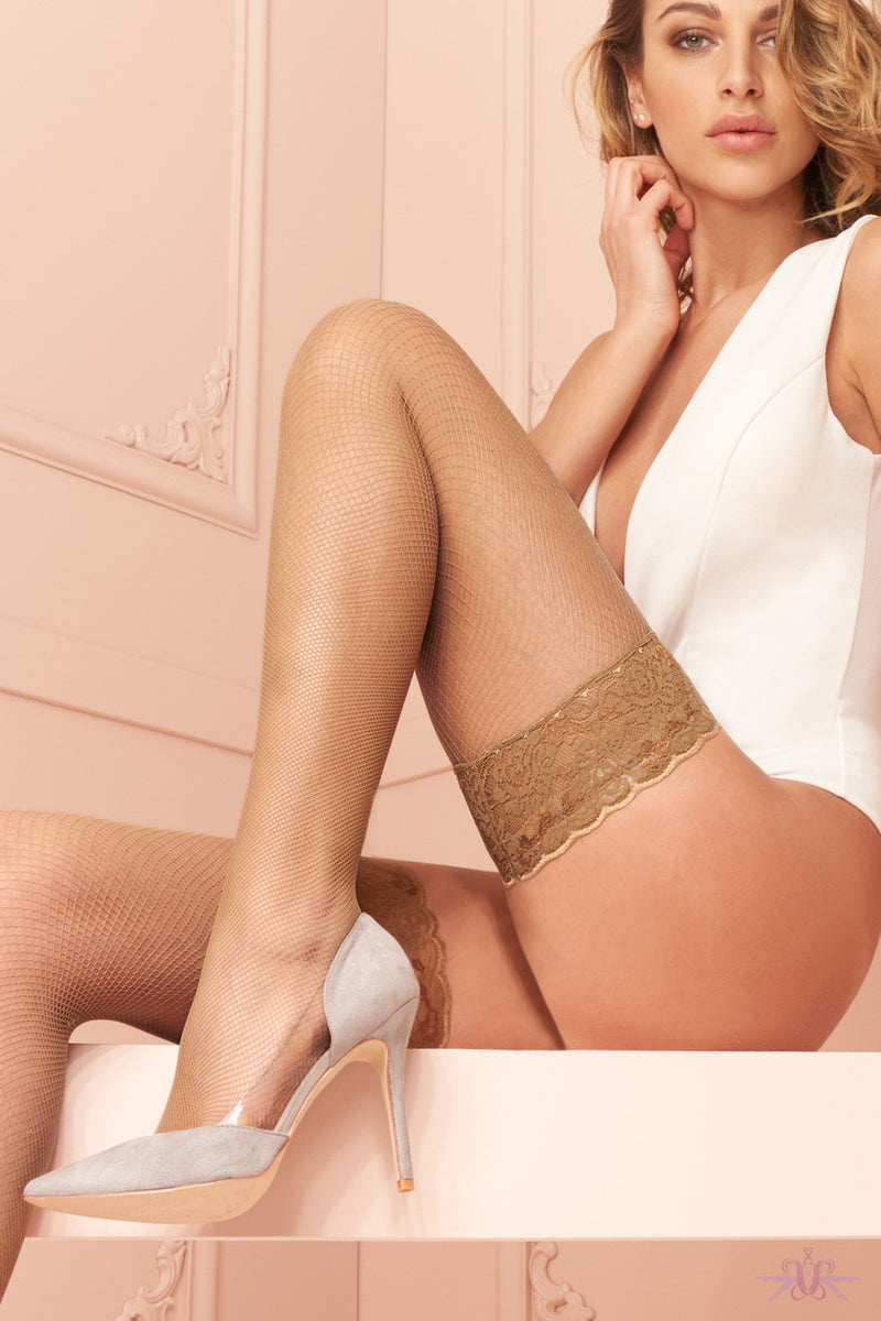 Trasparenze Ambra Hold Ups - Mayfair Stockings