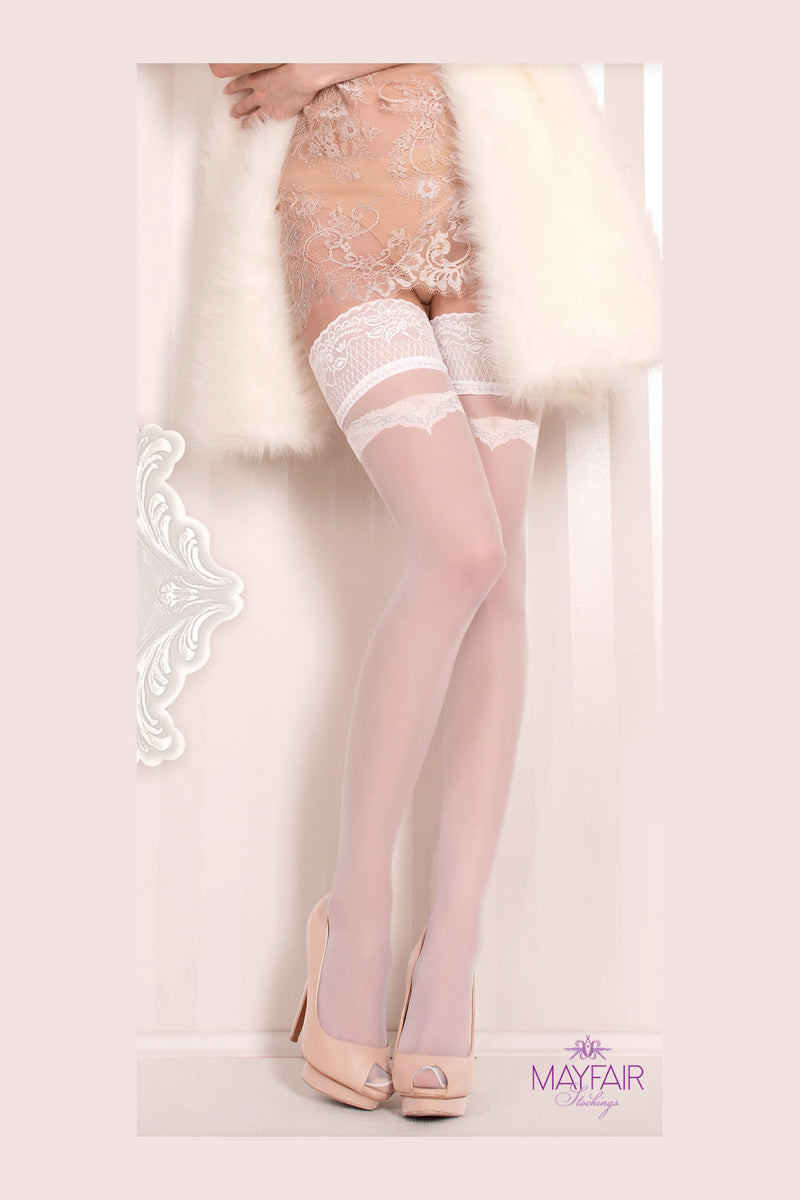 Ballerina Bridal Bow Hold Ups