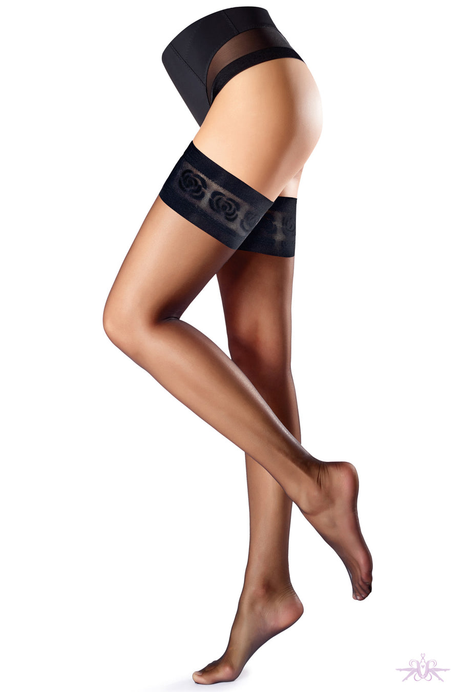 Oroblu Stylish Up 15 Hold Ups - Mayfair Stockings