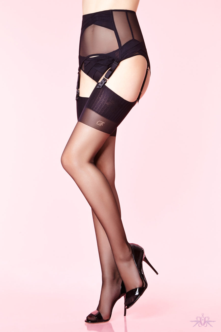 Chantal Thomass 15 Denier Seamed Stockings - Mayfair Stockings