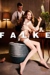 Falke Ceremonial Hold Ups - Mayfair Stockings