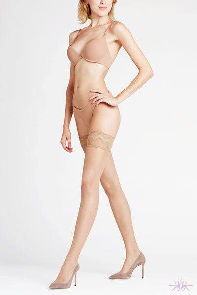 Falke Invisible Deluxe 8 Denier Hold Ups - Mayfair Stockings