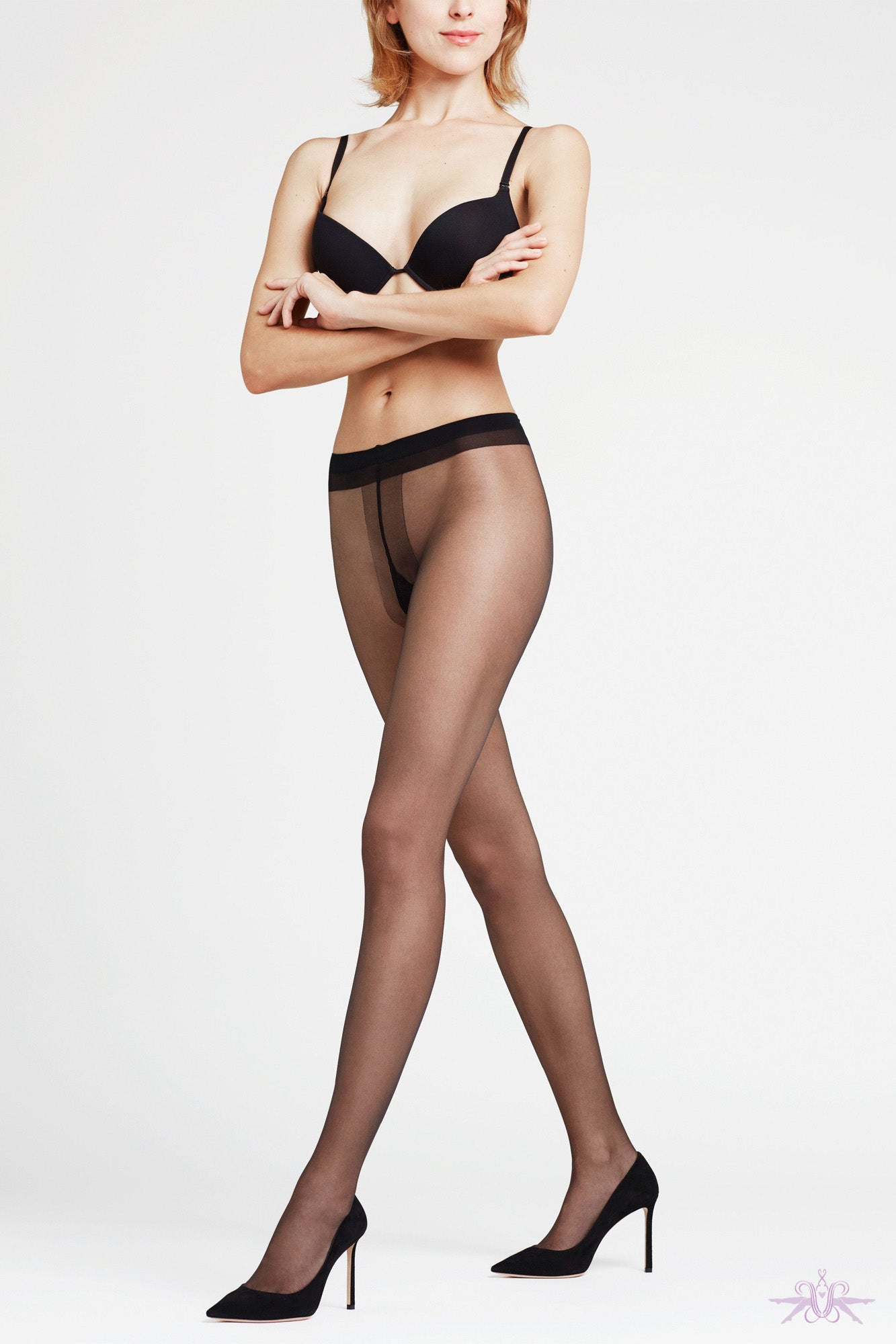 Falke Shelina 12 Tights - Mayfair Stockings