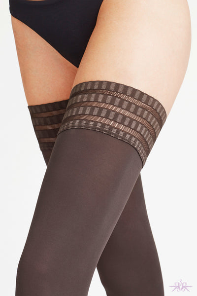 Falke Pure Matt 50 Hold Ups - Mayfair Stockings
