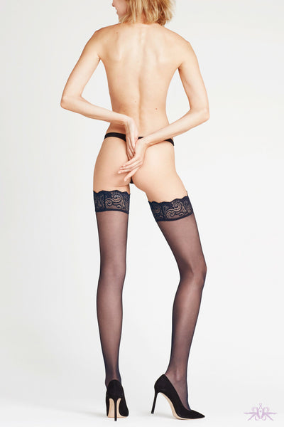 Falke Matt Deluxe 20 Hold Ups - Mayfair Stockings